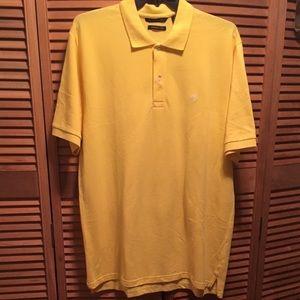 Sean John Yellow Polo Shirt